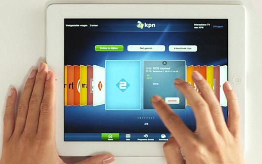 Kpn Introduceert Interactieve Tv Op Ipad One More Thing