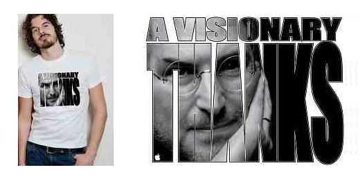 'A Visionary Thanks' t-shirt