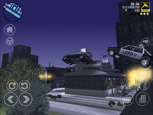 grand theft auto gta III iOS