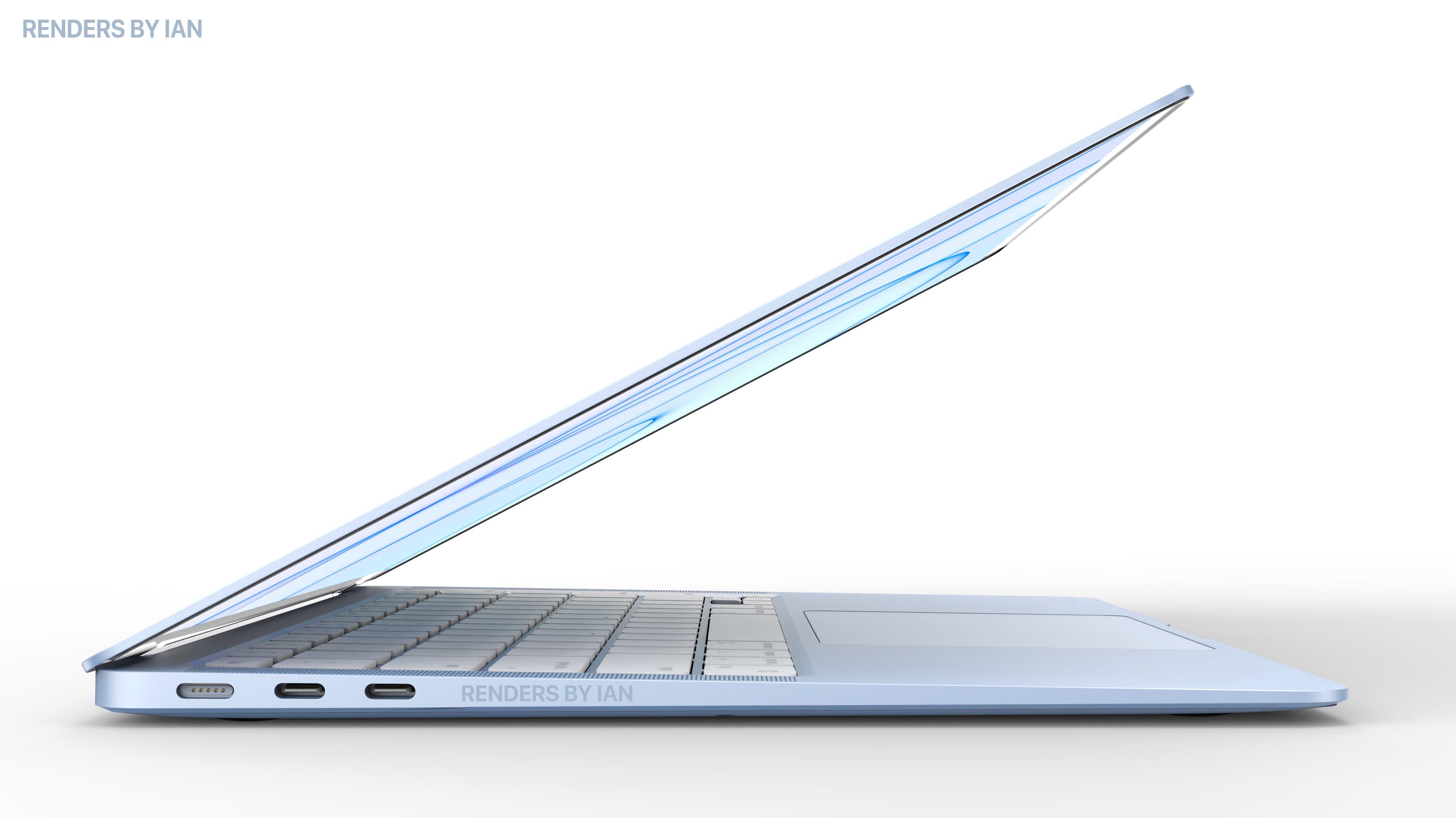 M1 Macbook Air (2021) ziet er ontzettend strak uit in deze ...